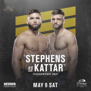 Видео боя Джереми Стивенс — Келвин Каттар UFC 249