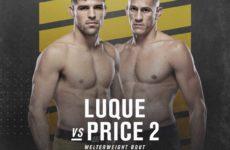 Видео боя Висенте Люке — Нико Прайс UFC 249