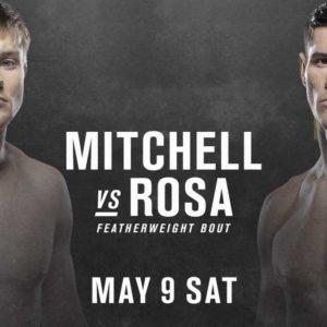 Видео боя Брайс Митчелл — Чарльз Роса UFC 249