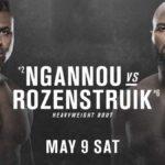Видео боя Фрэнсис Нганну — Жаирзиньо Розенструйк UFC 249