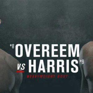 Видео боя Алистар Оверим – Уолт Харрис UFC Fight Night 172