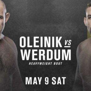 Видео боя Алексей Олейник — Фабрисио Вердум UFC 249