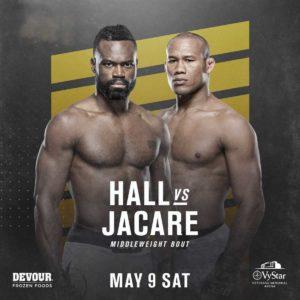 Видео боя Юрайа Холл — Роналдо «Жакаре» Соуза UFC 249