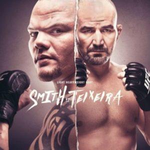 Прямая трансляция UFC Fight Night 171: Энтони Смит – Гловер Тейшейра