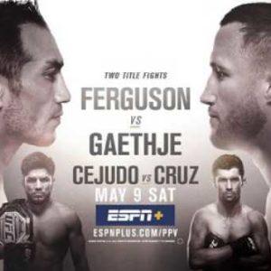 Прямая трансляция UFC 249: Тони Фергюсон — Джастин Гэтжи, Генри Сехудо — Доминик Круз