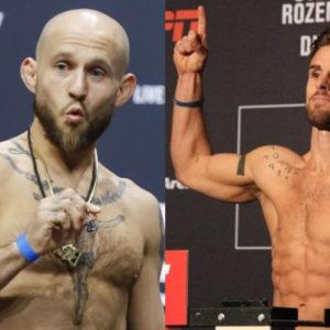 Видео боя Брайан Келлехер — Коди Стаманн UFC 250