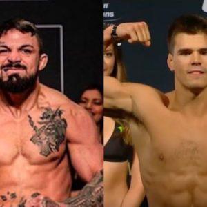 Видео боя Микки Галл — Майк Перри UFC on ESPN 12
