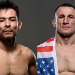 Видео боя Рэй Борг — Мераб Двалишвили UFC on ESPN 10