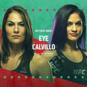 Видео боя Джессика Ай — Синтия Кальвильо UFC on ESPN 10