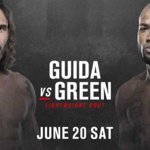 Видео боя Клэй Гуида — Бобби Грин UFC on ESPN 11
