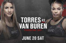 Видео боя Тиша Торрес — Брианна Ван Бурен UFC on ESPN 11