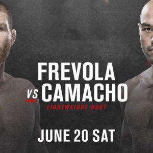 Видео боя Фрэнк Камачо — Мэтт Фревола UFC on ESPN 11