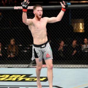 Видео боя Джек Шор – Аарон Филлипс UFC on ESPN 13