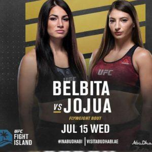 Видео боя Диана Белбита – Лиана Джоджуа UFC on ESPN 13