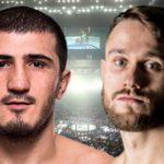 Видео боя Рамазан Эмеев — Никлас Штольц UFC on ESPN 14