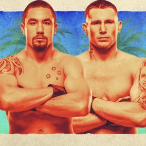 Видео боя Роберт Уиттакер — Даррен Тилл UFC on ESPN 14