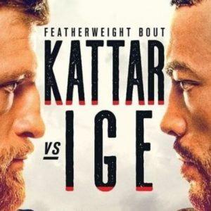 Прямой эфир UFC on ESPN 13: Келвин Каттар – Дэн Иге. Смотреть онлайн