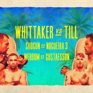 Прямой эфир UFC on ESPN 14: Роберт Уиттакер — Даррен Тилл. Смотреть онлайн