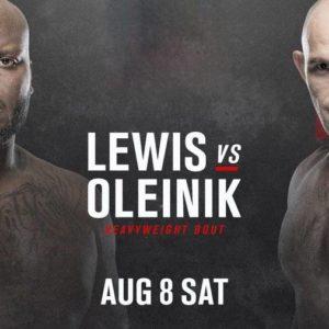 Видео боя Алексей Олейник — Деррик Льюис UFC Fight Night 174