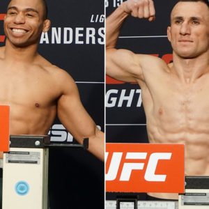 Видео боя Джон Додсон — Мераб Двалишвили UFC 252