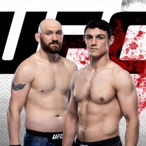 Видео боя Зак Каммингс — Алессио Ди Чирико UFC Fight Night 175