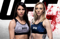 Видео боя Полиана Виана — Эмили Уитмайр UFC Fight Night 175
