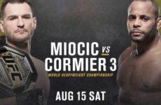Видео боя Стипе Миочич — Даниэль Кормье 3 UFC 252