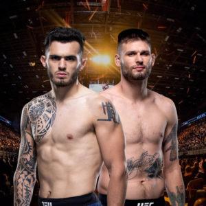 Видео боя Тим Минс — Лауреано Старополи UFC Fight Night 174