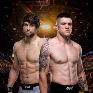Видео боя Эндрю Санчес — Веллингтон Турман UFC Fight Night 174