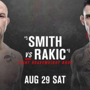 Видео боя Энтони Смит — Александр Ракич UFC Fight Night 175