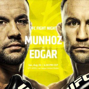 Прямой эфир UFC on ESPN 15: Фрэнки Эдгар — Педро Муньос. Смотреть онлайн