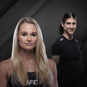 Видео боя Андреа Ли — Роксанн Модаффери UFC Fight Night 177