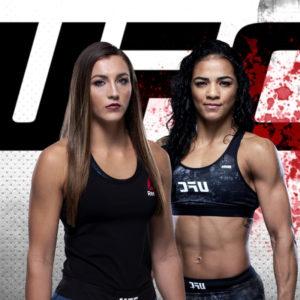 Видео боя Вивиане Арауджо — Монтана Де Ла Роса UFC Fight Night 176