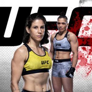 Видео боя Сиджара Юбэнкс — Кэрол Роса UFC Fight Night 176