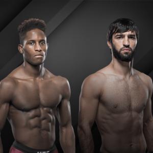 Видео боя Хаким Даводу — Зубайра Тухугов UFC 253