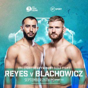 Видео боя Ян Блахович — Доминик Рейес UFC 253