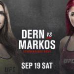 Видео боя Маккензи Дерн – Ранда Маркос UFC Fight Night 178