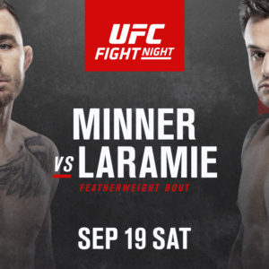 Видео боя Дэррик Миннер – Ти Джей Ларами UFC Fight Night 178