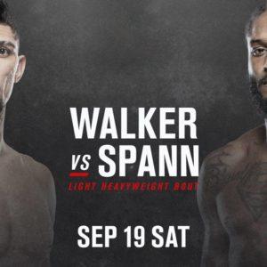 Видео боя Джонни Уокер – Райан Спанн UFC Fight Night 178