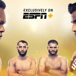 Прямой эфир UFC 253: Исраэль Адесанья — Пауло Коста, Ян Блахович — Доминик Рейес. Смотреть онлайн