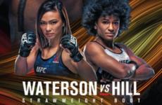 Прямая трансляция UFC Fight Night 177: Мишель Уотерсон – Анджела Хилл