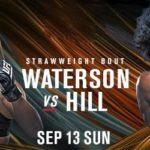 Прямой эфир UFC on ESPN+ 35: Мишель Уотерсон — Анджела Хилл. Смотреть онлайн