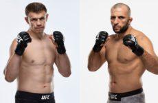 Видео боя Гаджимурад Антигулов – Максим Гришин UFC Fight Night 180