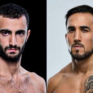 Видео боя Гига Чикадзе — Омар Моралес UFC Fight Night 179