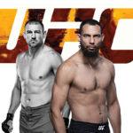 Видео боя Дастин Джакоби — Джастин Ледет UFC on ESPN+ 39