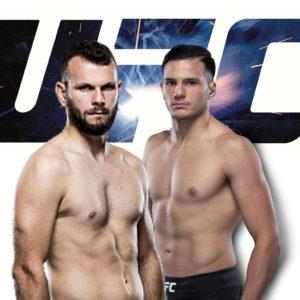 Видео боя Джессин Айари — Луиджи Вендрамини UFC on ESPN 16