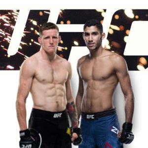 Видео боя Илья Топурия — Юссеф Залал UFC Fight Night 180