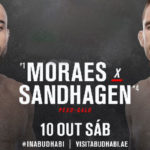 Видео боя Марлон Мораес — Кори Сандхаген UFC Fight Night 179