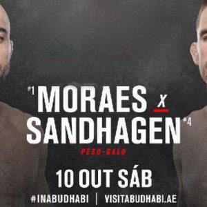 Видео боя Марлон Мораес — Кори Сандхаген UFC Fight Night 179
