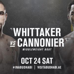 Видео боя Джаред Каннонье — Роберт Уиттакер UFC 254